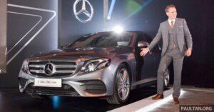 giá xe Mercedes E Class