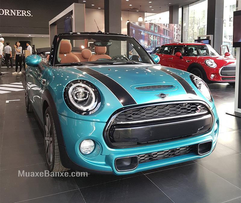 Gia Xe Mini Cooper Convertible 2020 Mui Trần Thong Số Gia Ban 09 2020