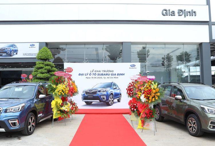 Showroom Subaru Gia Định tọa lạc tại số 65/1A Lê Thị Riêng, phường Thới An, quận 12, TP.Hồ Chí Minh