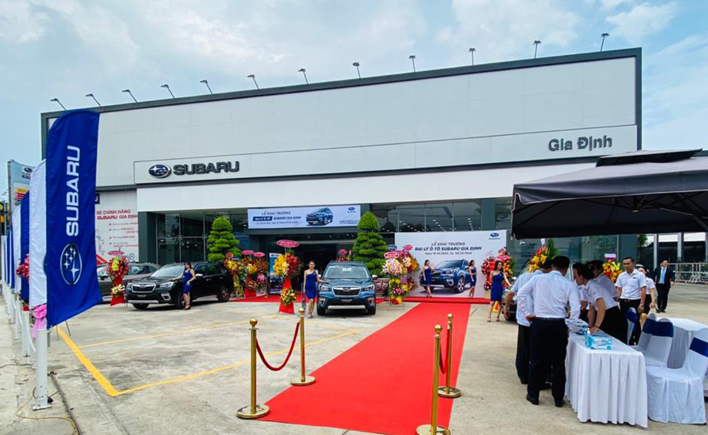 Đại lý Subaru Gia Định, Quận 12, Tp. Hồ Chí Minh