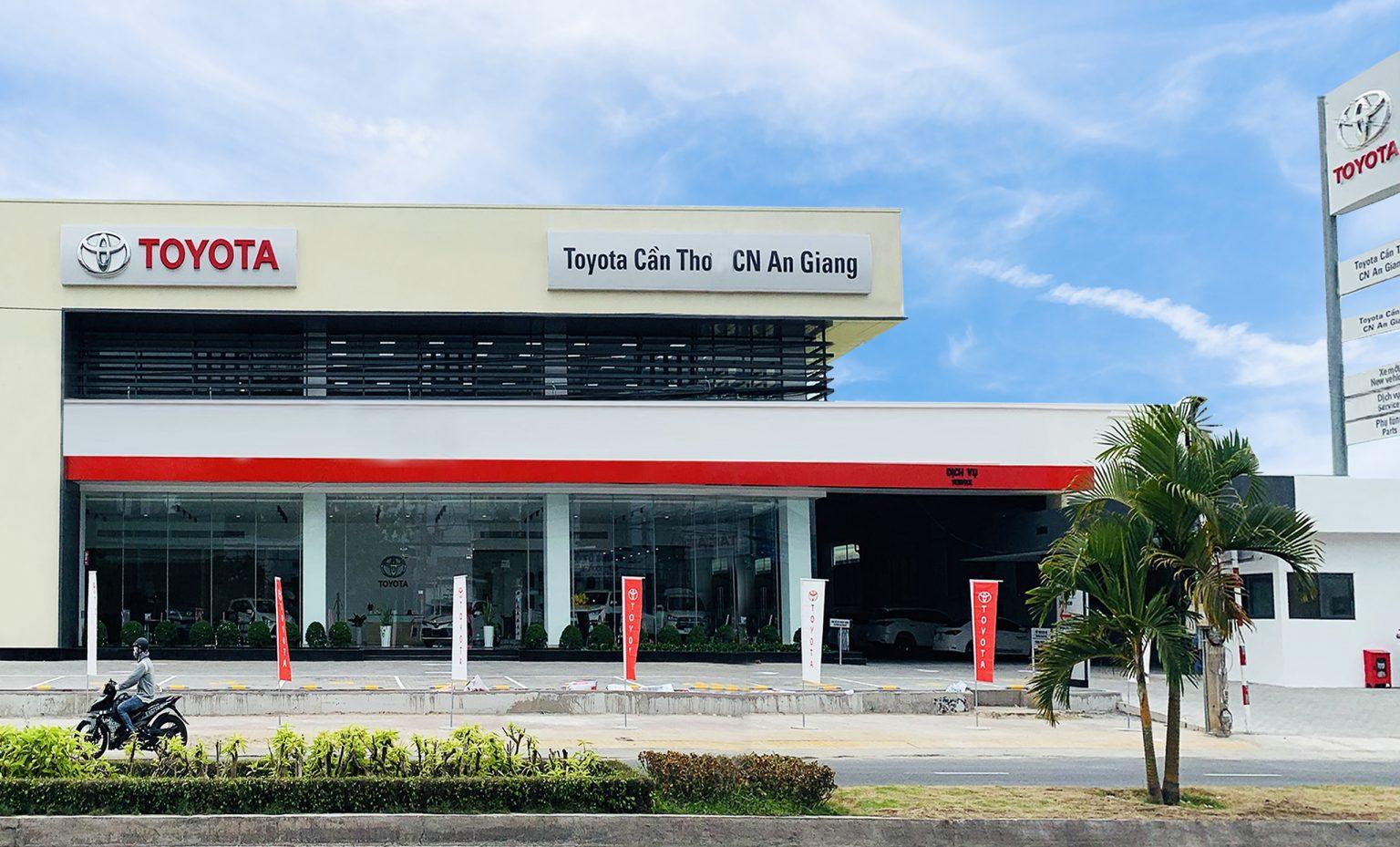 z - Giới thiệu đại lý Toyota An Giang, Toyota Cần Thơ CN An Giang