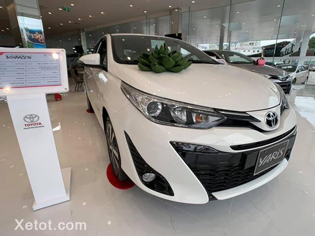 yaris daily toyota tan cang Xetot com - Giới thiệu các mẫu xe hatchback hạng B tại Việt Nam