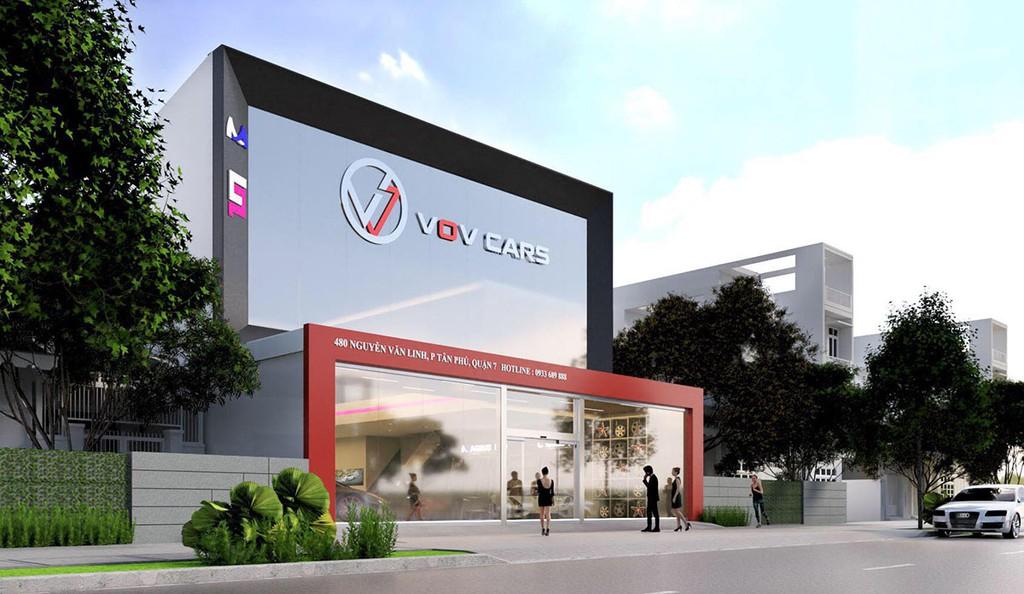 4a - Giới thiệu showroom siêu xe VOV Super Cars, Quận 7, TP. HCM