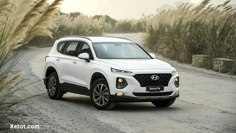 12 3 - Chi tiết xe Hyundai SantaFe 2.4L máy xăng 2021 - bản SantaFe duy nhất giá dưới 1 tỷ đồng