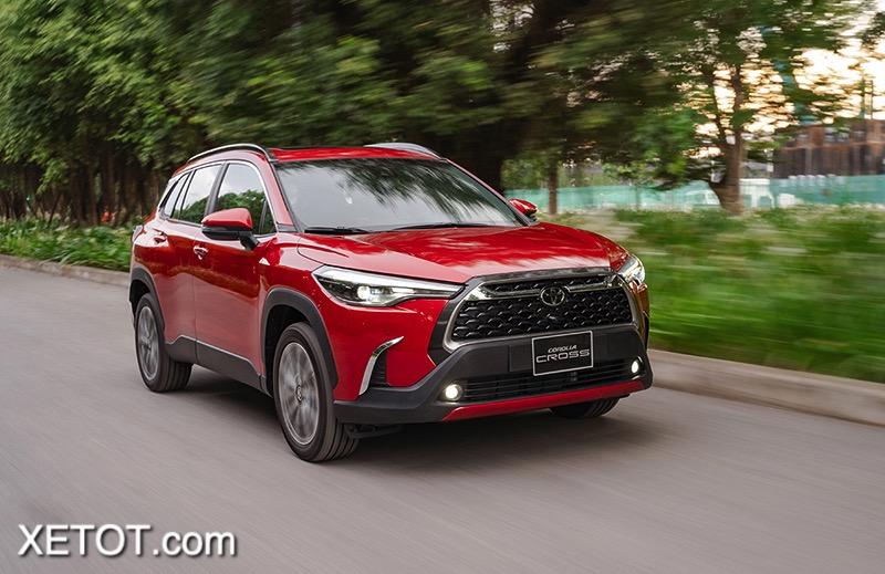 16 1 - Toyota Corolla Cross 1.8 V 2021: Xứng tầm phân khúc SUV hạng C