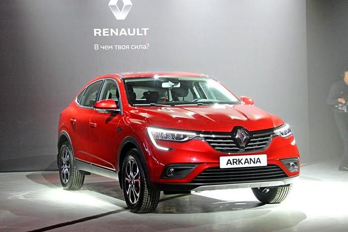 """2 4 - Đánh giá xe Renault Arkana 2021: Đối thủ """"nặng ký"""" của Honda CR-V"""