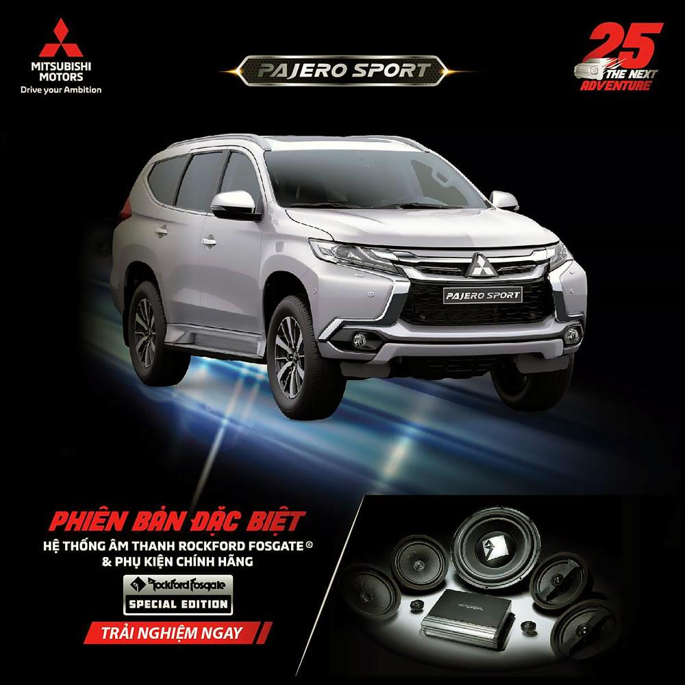 6 2 - Chi tiết Mitsubishi Pajero Sport Máy xăng 4×2 AT Special Edition