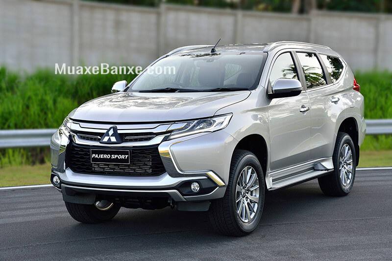 """7 4 - Chi tiết xe Mitsubishi Pajero Sport máy xăng 4×2 AT 2021 - SUV máy xăng """"lướt"""" êm với động cơ """"khủng"""""""