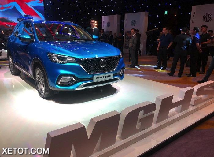 1 10 - Đánh giá xe MG HS 2021 tại Việt Nam: Cạnh tranh Honda CRV và CX 5