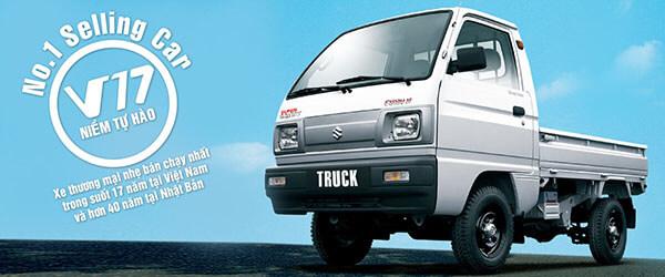 10 9 - Chi tiết các phiên bản xe tải Suzuki Carry tại Việt Nam