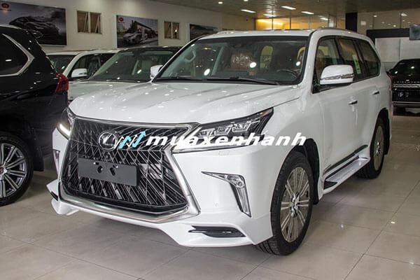 17 4 - Chi tiết xe Lexus LX570 Super Sport 2021 kèm giá bán (04/2021)
