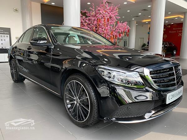 18 3 - Mercedes C200 Exclusive 2021: thông số, giá lăn bánh, khuyến mãi (04/2021)