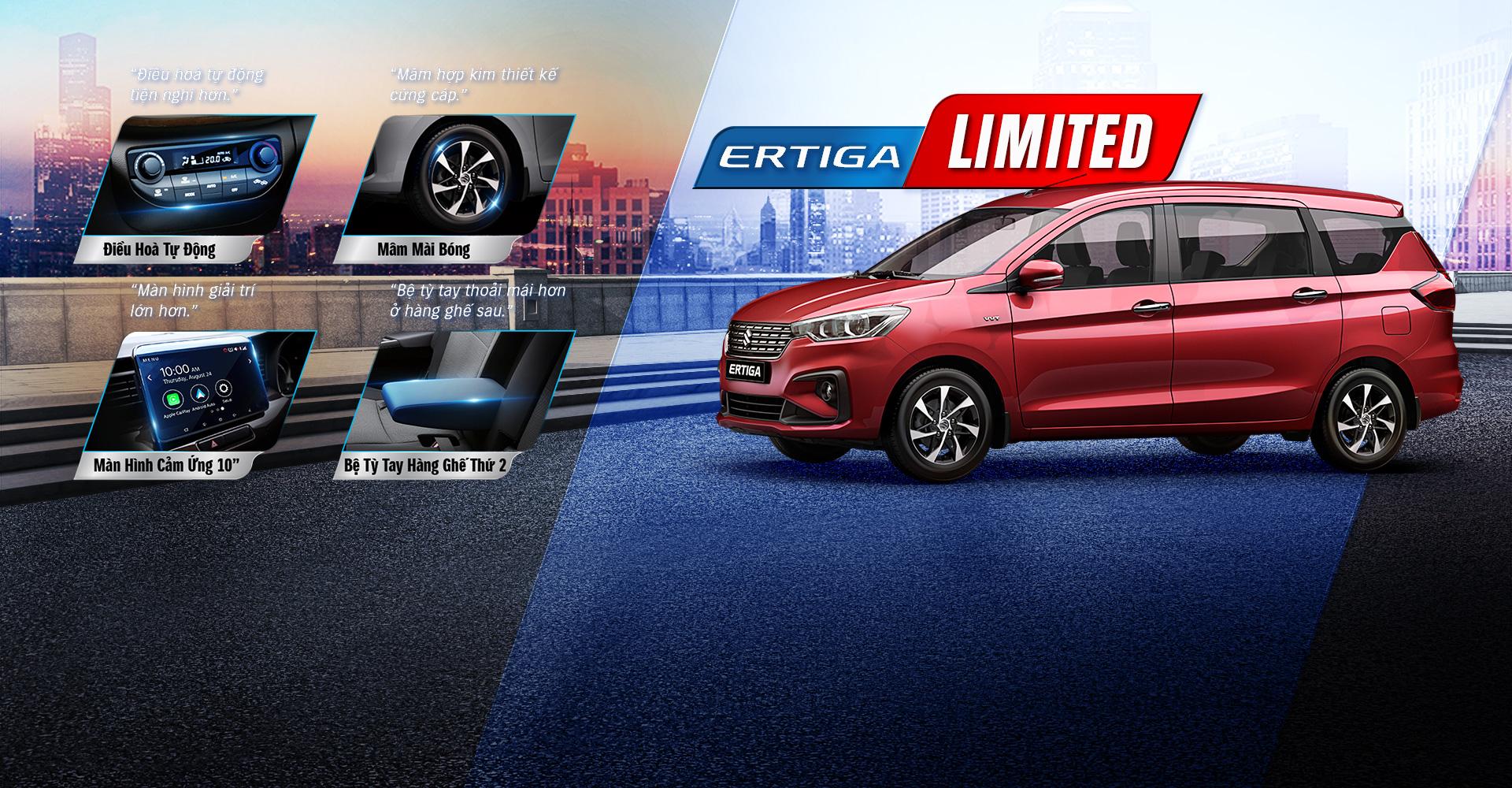 19 1 - Chi tiết xe Suzuki Ertiga Limited 2021 - nâng cấp hấp dẫn, chỉ tăng 6 triệu