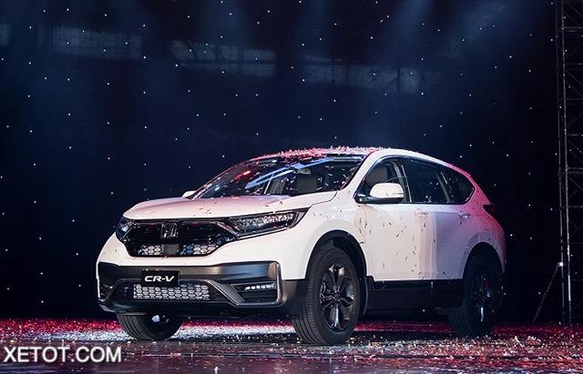 21 - So sánh 3 phiên bản xe Honda CR-V 2021: Sự khác biệt trong mức giá