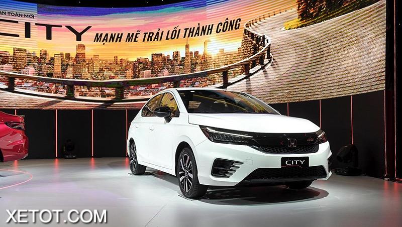 23 - Chi tiết xe Honda City RS 2021 - Trẻ trung cuốn hút, tăng áp phấn khích
