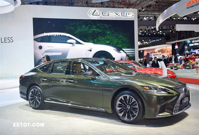 4 8 - Chi tiết Lexus LS 500h SE 2021 phiên bản đặc biệt kèm giá bán (04/2021)