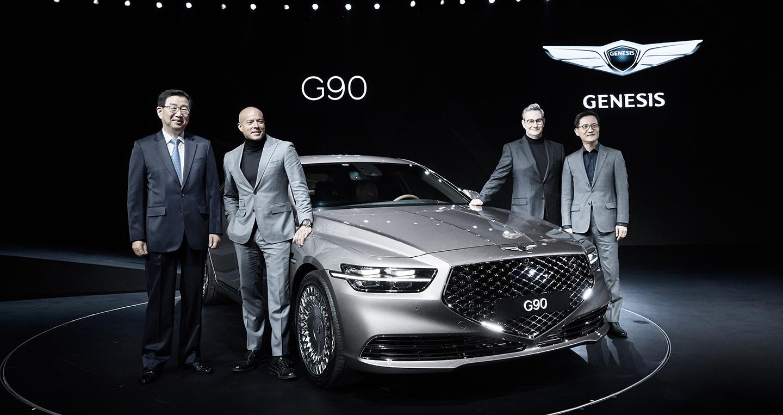 4 - Chi tiết xe Genesis G90 2021 -  Xế sang đương đại với thiết kế kinh điển