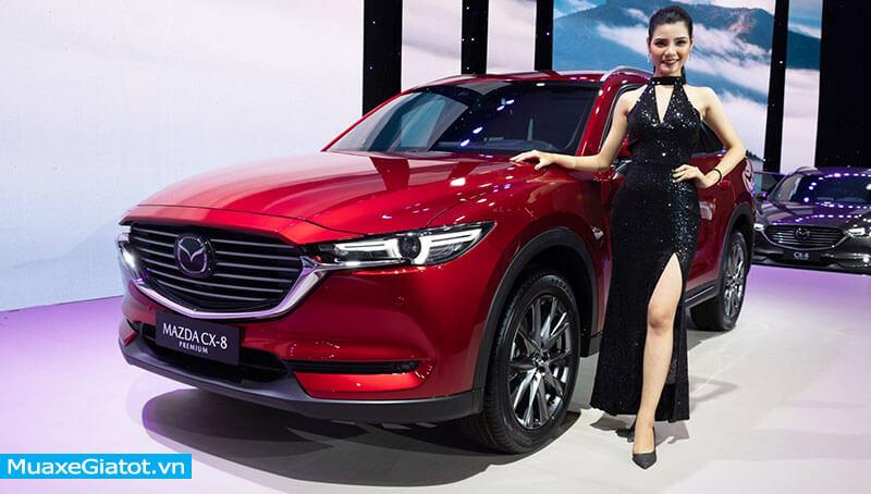 """8 19 - Mazda CX-8 Luxury 2021 - Dành cho các tín đồ CX-5 thích """"rộng rãi"""""""