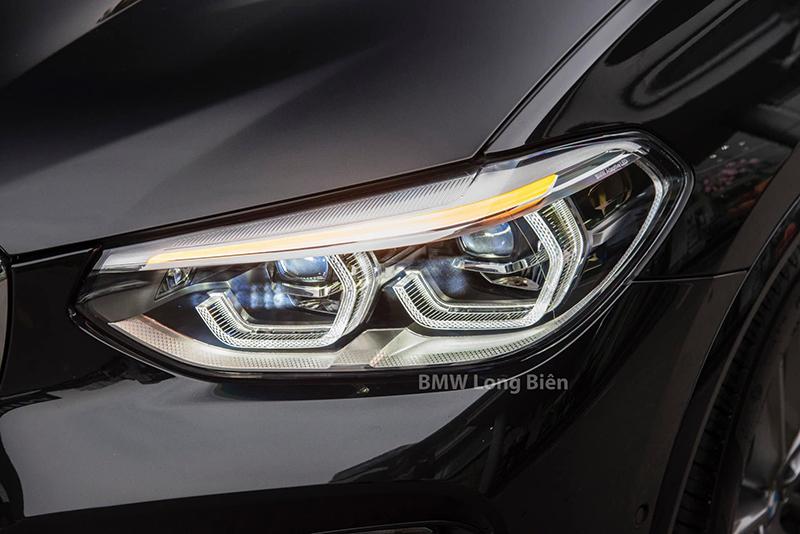 """den xe bmw x3 m sport 2021 xetot com - Đánh giá xe BMW X3 M Sport 2021 – Thêm """"đồ chơi"""", tăng giá bán"""