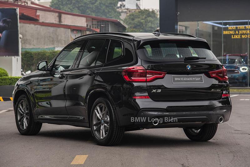 """diuoi xe bmw x3 m sport 2021 xetot com - Đánh giá xe BMW X3 M Sport 2021 – Thêm """"đồ chơi"""", tăng giá bán"""