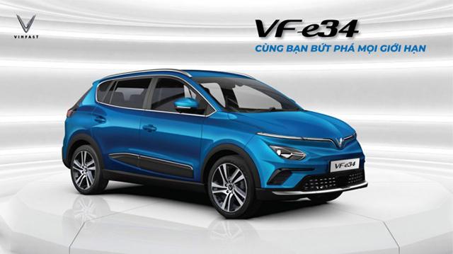 Gia xe Vinfast VF e34 2021 muaxegiatot vn - VinFast e34 được định vị ở phân khúc nào và những đối thủ sẽ phải gặp trong tương lai