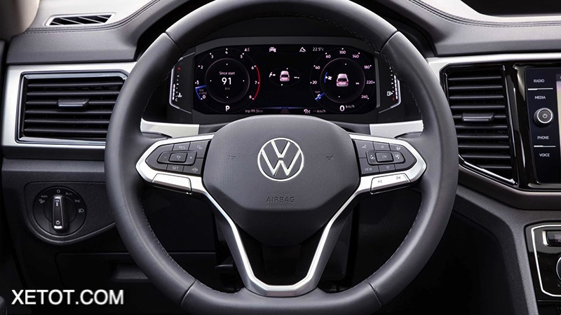 Vo lang xe Volkswagen Teramont 2021 XETOT COM - Những điểm nổi bật trên Volkswagen Teramont 2021 sắp bán tại Việt Nam