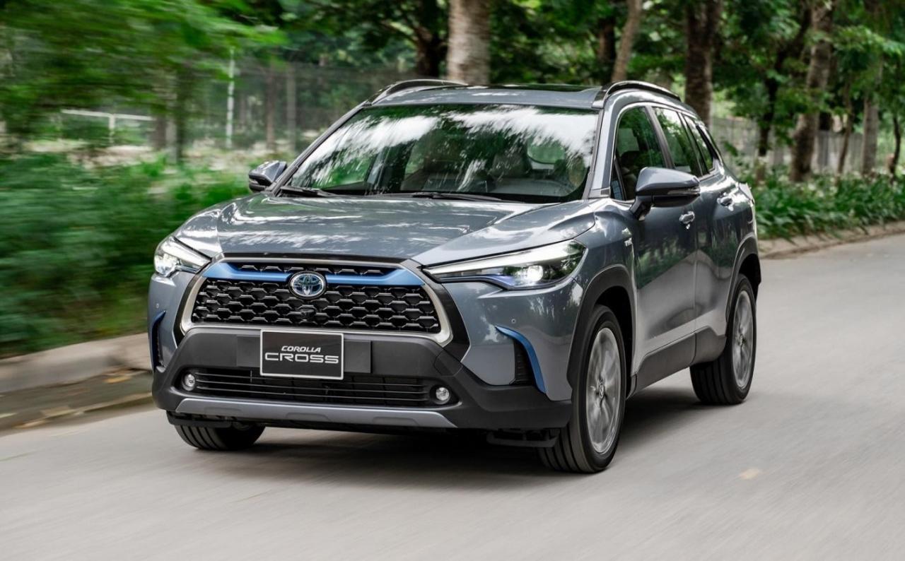 Toyota Corolla CROSS trình làng Việt Nam, nhập khẩu nguyên chiếc từ Thái Lan