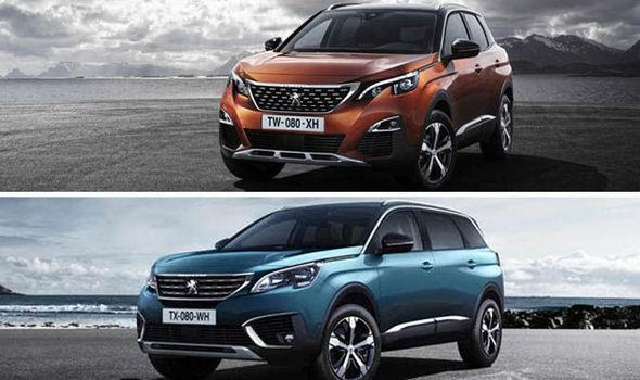 Peugeot announce new versions of their 3008 and 5008 SUV's | Express.co.uk