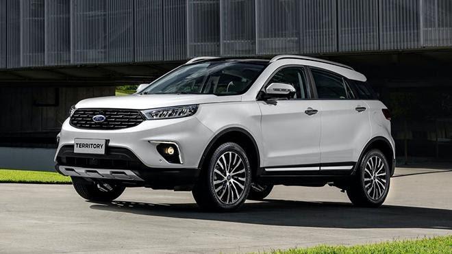Ford Territory, giá dự kiến 699 triệu VND - Ford Hà Thành