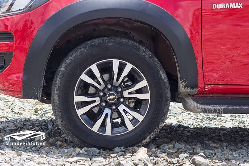 Giá xe Chevrolet Colorado 2018 (Mâm xe)
