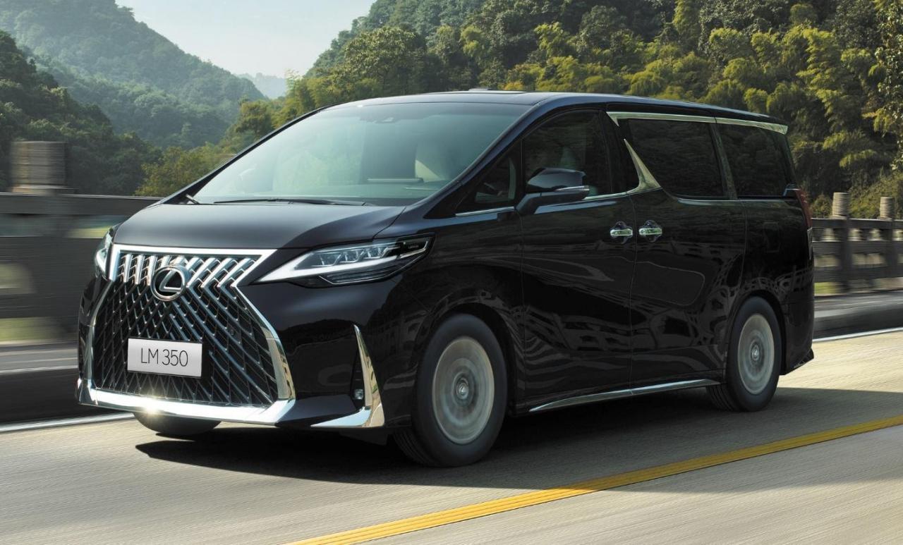 Lexus LM 350 chính hãng chuẩn bị ra mắt tại Việt Nam: 2 phiên bản, động cơ xăng V6