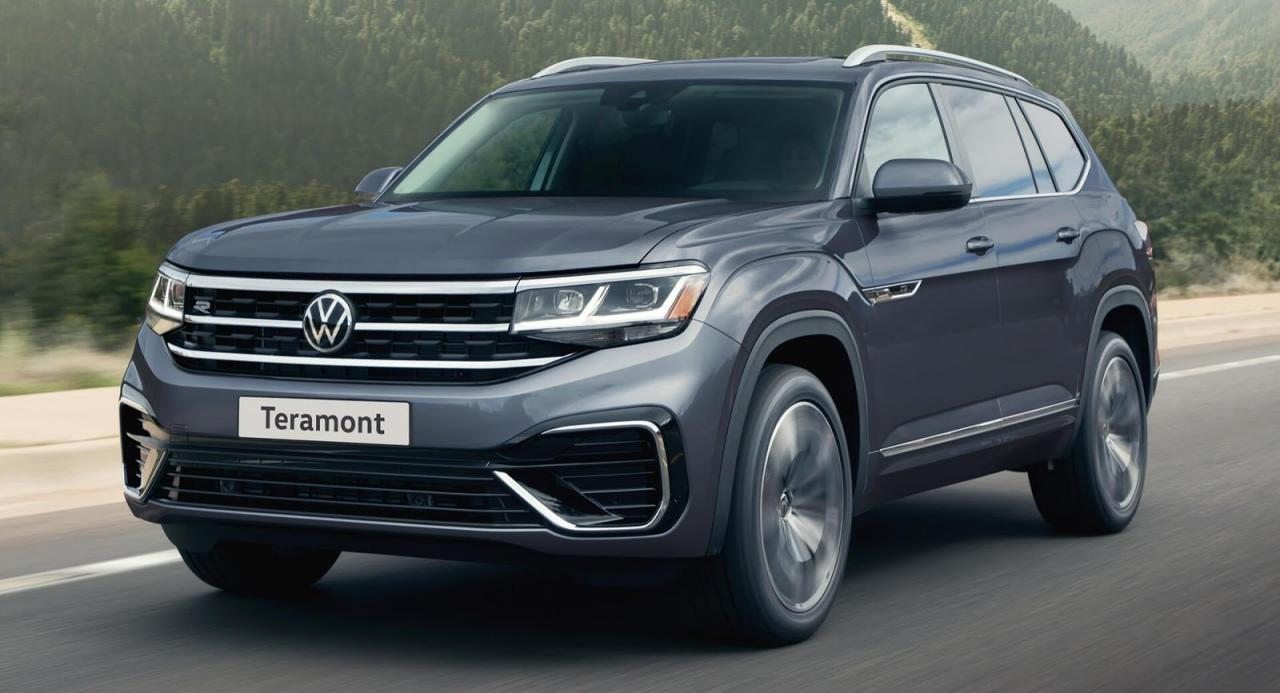 This Is Russia's 2021 VW Teramont, Aka The Atlas In America, And It Has Just Been Updated | Carscoops