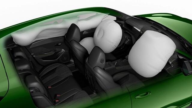 Peugeot 308 2022 he thong tui khi Giaxehoi vn 640x360 1 - Đánh giá Peugeot 308 2022 – Đối thủ đáng gờm của Honda Civic Type RS