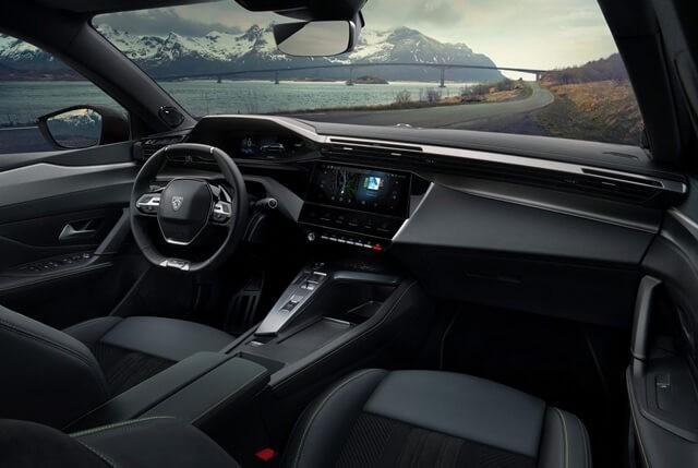 Peugeot 308 2022 khoang lai Giaxehoi vn 640x429 1 - Đánh giá Peugeot 308 2022 – Đối thủ đáng gờm của Honda Civic Type RS