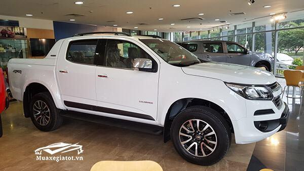 Đánh giá xe bán tải Chevrolet Colorado 2018