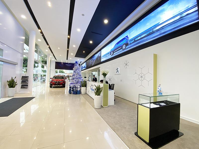 showroom peugeot cong hoa tan binh tphcm muaxegiatot vn - Giới thiệu đại lý Peugeot Cộng Hòa, Quận Tân Bình, thành phố Hồ Chí Minh