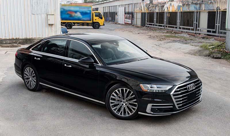 Audi A8L Nhap tu nhan gia 7 ty Xetot com - Audi A8L 2021 nhập khẩu tư nhân về Việt Nam, giá gần 7 tỷ đồng