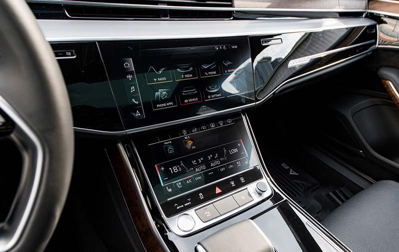 dieu khien trung tam Audi A8L Nhap tu nhan gia 7 ty Xetot com - Audi A8L 2021 nhập khẩu tư nhân về Việt Nam, giá gần 7 tỷ đồng