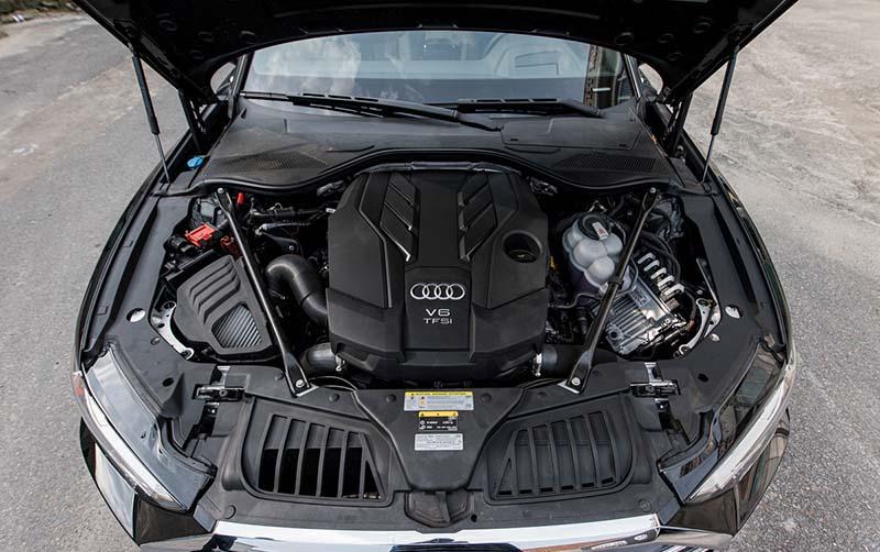 dong co Audi A8L Nhap tu nhan gia 7 ty Xetot com - Audi A8L 2021 nhập khẩu tư nhân về Việt Nam, giá gần 7 tỷ đồng