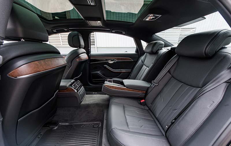 ghe sau Audi A8L Nhap tu nhan gia 7 ty Xetot com - Audi A8L 2021 nhập khẩu tư nhân về Việt Nam, giá gần 7 tỷ đồng