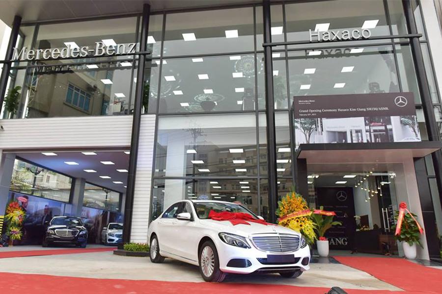 mat tien dai ly mercedes benz haxaco kim giang quan hoang mai ha noi muaxegiatot vn - Top 5 đại lý Mercedes-Benz chính hãng uy tín nhất Hà Nội