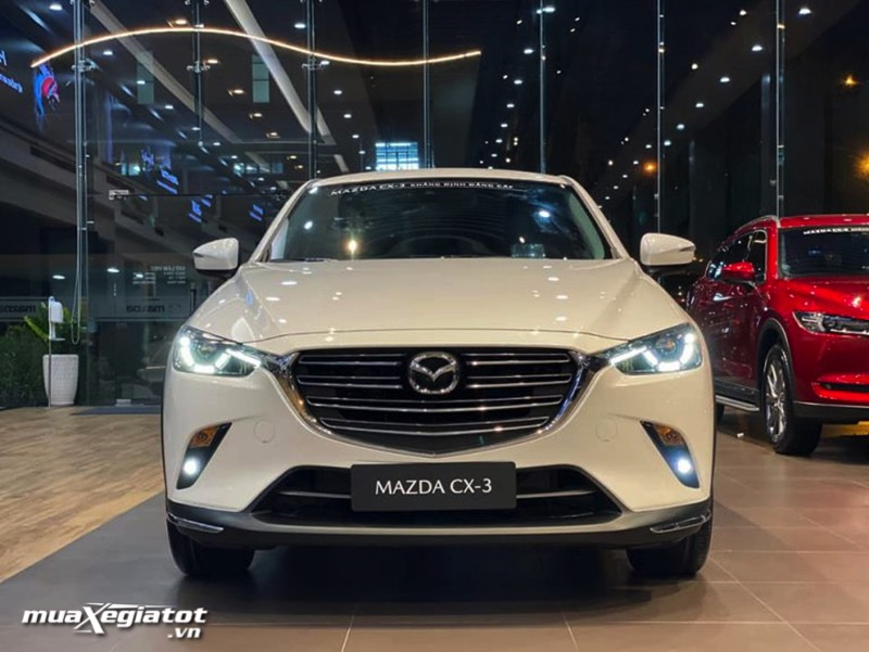 can truoc xe mazda cx 3 2021 2022 muaxegiatot vn 1 - Trong tay hơn 600 triệu nên chọn Mazda CX-3 hay Kia Seltos?
