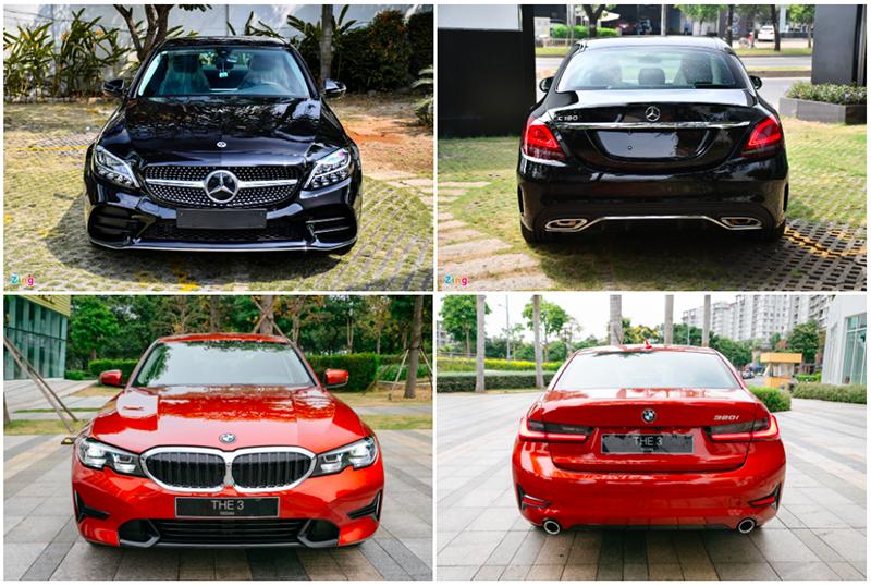 mercedes benz c180 amg hay bmw 320i sport line giaxehoi vn 4 800x538 1 - Mua xe sang giá rẻ chọn Mercedes-Benz C180 AMG hay BMW 320i Sport Line?