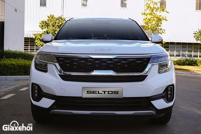 Dau xe Kia Seltos 2021 2022 Xe mau trang muaxegiatot vn - So sánh các phiên bản Kia Seltos 2022? Nên chọn mua bản nào tốt nhất?