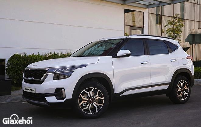 Gia xe Kia Seltos 2021 2022 Xe mau trang muaxegiatot vn - So sánh các phiên bản Kia Seltos 2022? Nên chọn mua bản nào tốt nhất?