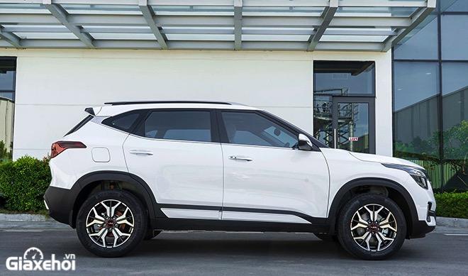 Hong xe Kia Seltos 2021 2022 Xe mau trang muaxegiatot vn - So sánh các phiên bản Kia Seltos 2022? Nên chọn mua bản nào tốt nhất?