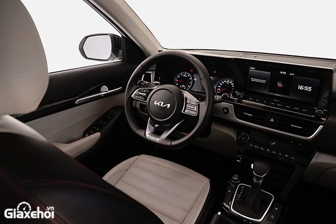 Noi that xe Kia Seltos 2021 2022 Xe mau trang muaxegiatot vn - So sánh các phiên bản Kia Seltos 2022? Nên chọn mua bản nào tốt nhất?