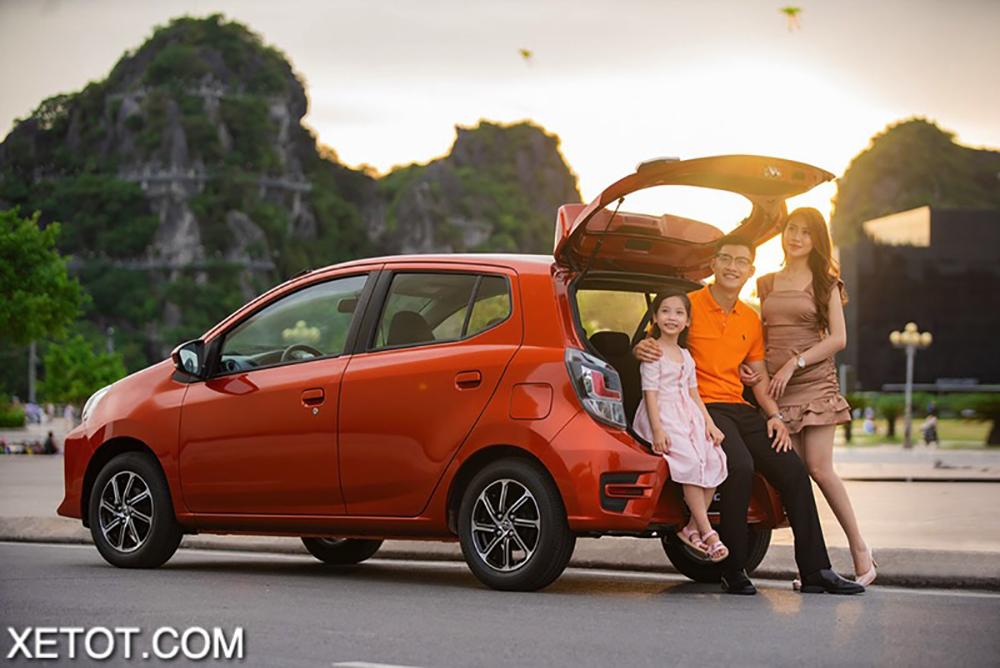 cop xe toyota wigo 2020 2021 xetot com 1 - 5 mẫu xe hạng A có mức tiêu thụ nhiên liệu tiết kiệm nhất hiện nay