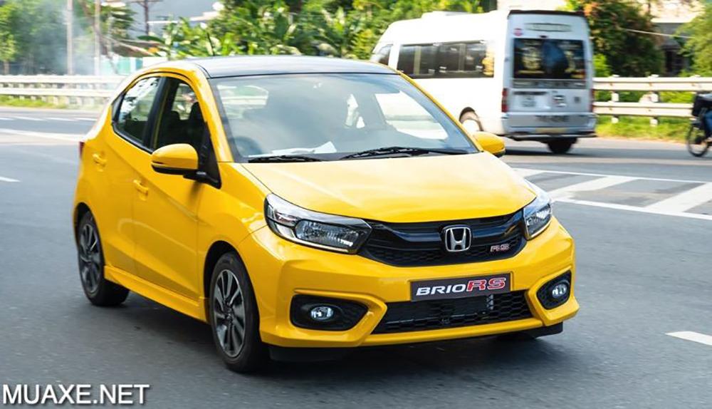 dau xe honda brio 2021 muaxegiatot vn - 5 mẫu xe hạng A có mức tiêu thụ nhiên liệu tiết kiệm nhất hiện nay