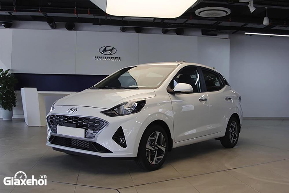 gia xe grand i10 sedan 2021 2022 giaxehoi vn - 5 mẫu xe hạng A có mức tiêu thụ nhiên liệu tiết kiệm nhất hiện nay